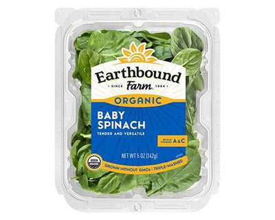 Earthbound Baby Spinach