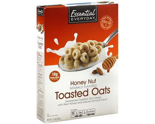 Essential Everyday Honey Nut Toasted Oats