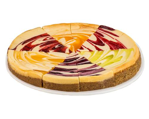 Father's Table Fruit Swirl Variety Cheesecake