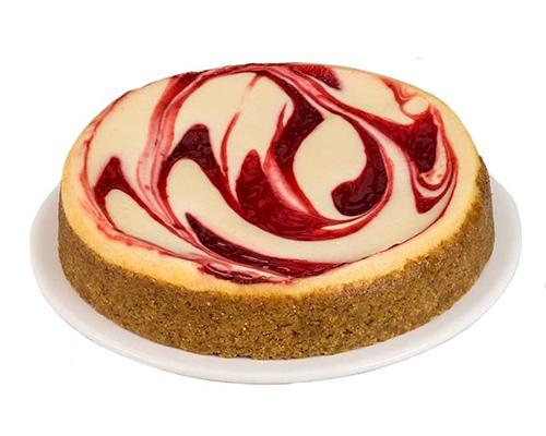 Father's Table Red Velvet Swirl Cheesecake