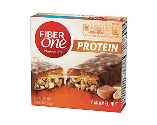 Fiber One Caramel Nuts - 5 ct