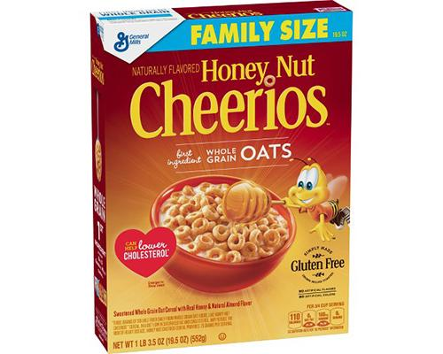 General Mills Honey Nut Cheerios Family Size