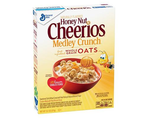 General Mills Honey Nut Cheerios Medley Crunch