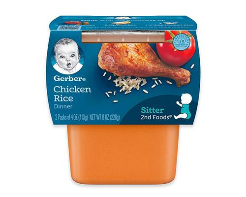Gerber Chicken Rice - 2pk