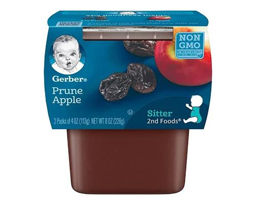 Gerber Prune Apples - 2pk