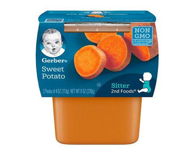 Gerber Sweet Potato - 2pk