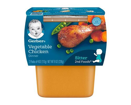 Gerber Vegetable Chicken - 2pk