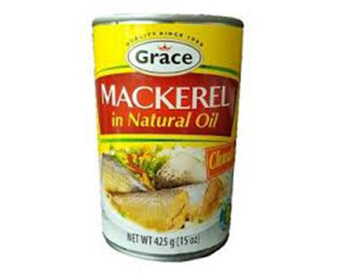 Grace Mackerel in Natural Oil