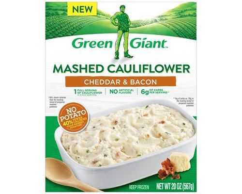 Green Giant Mashed Cauliflower Cheddar & Bacon
