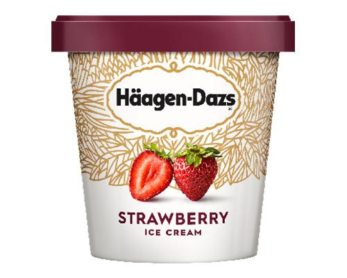 Haagen Dazs Ice Cream Strawberry