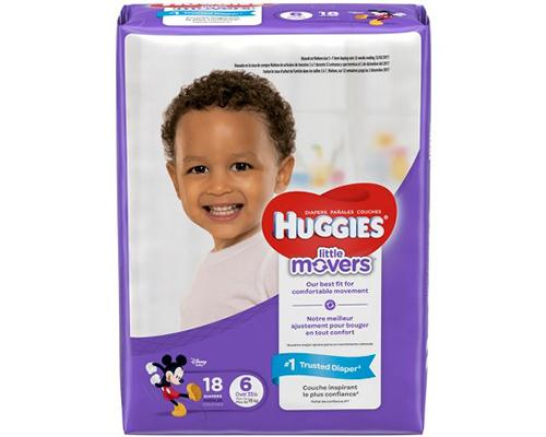 Huggies Little Movers Stage 6 - 18 ct