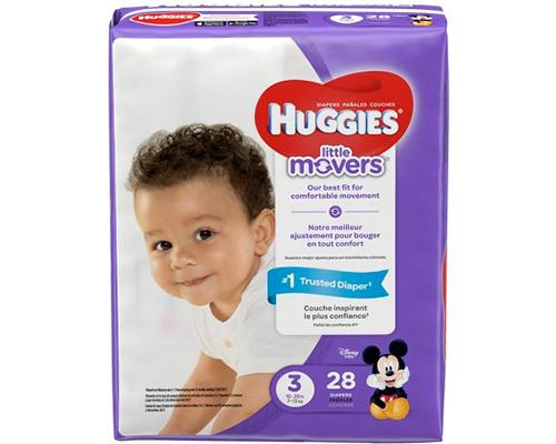 Huggies Little Movers Stage 3 - 28 ct