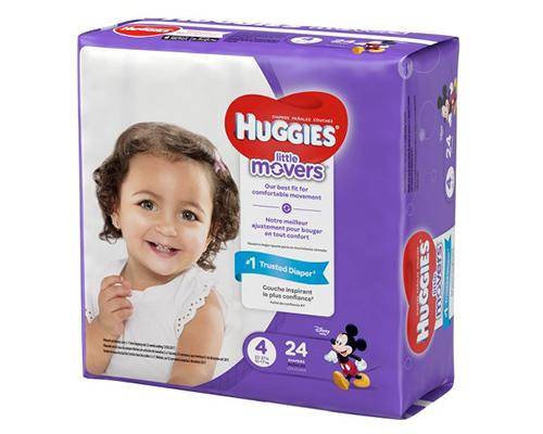 Huggies Little Movers Stage 4 - 24 ct