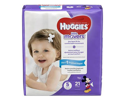 Huggies Little Movers Stage 5 - 21 ct