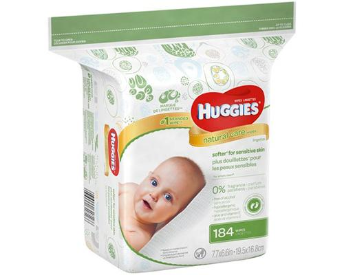 Huggies Natural Care Wipes - 184 ct