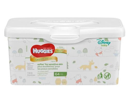 Huggies Natural Care Wipes - 64 ct