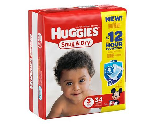 Huggies Snug & Dry Stage 3 - 34 ct