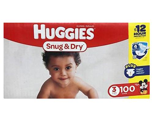 Huggies Snug & Dry Stage 3 (16-28 lbs) - 100 ct