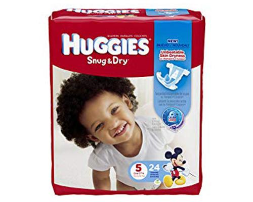Huggies Snug & Dry Stage 5 - 24 ct