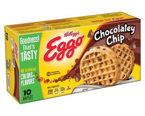 Eggo Chocolate Chip Waffles - 10 ct