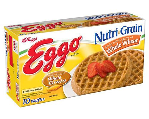 Eggo Whole Wheat Waffles - 10 ct
