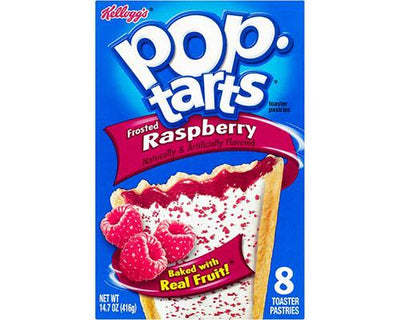 Kellogg's Pop Tarts Raspberry Frosted - 8 ct