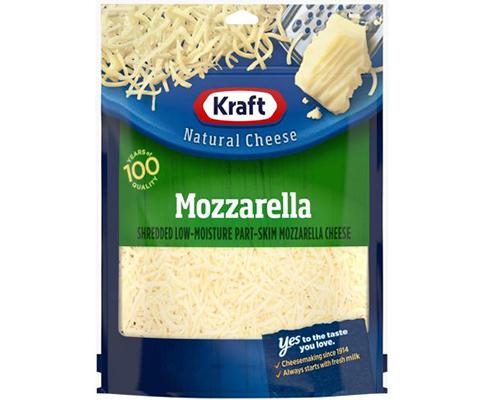 Kraft Mozzarella Shredded Cheese
