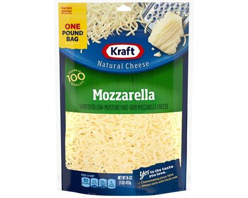 Kraft Mozzerella Shredded Cheese
