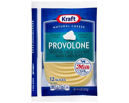 Kraft Provolone Cheese Slices - 12 slices