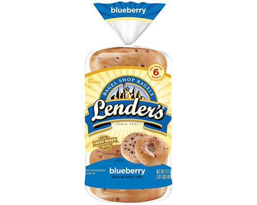 Lender's Bagel Blueberry - 6 ct