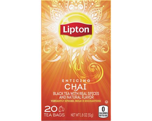 Lipton Chai Tea Bags - 20 ct