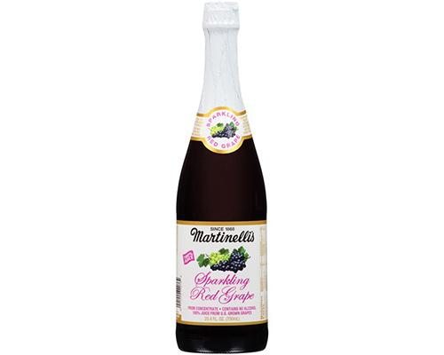 Martinelli Sparkling Apple Cider Red Grape
