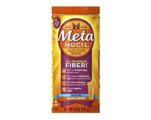 Metamucil Fiber Orange Smooth