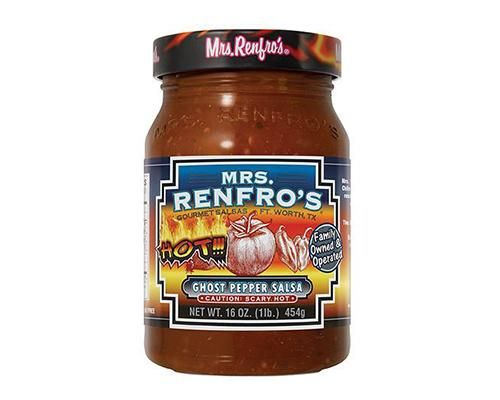 Mrs Renfro's Ghost Pepper Salsa