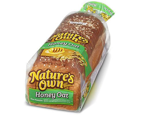 Nature's Own Honey Oats Bread