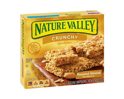 Nature Valley Crunchy Roasted Almonds - 6 ct