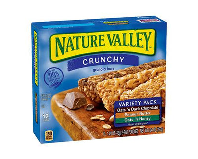 Nature Valley Crunchy Variety Pack - 6 ct