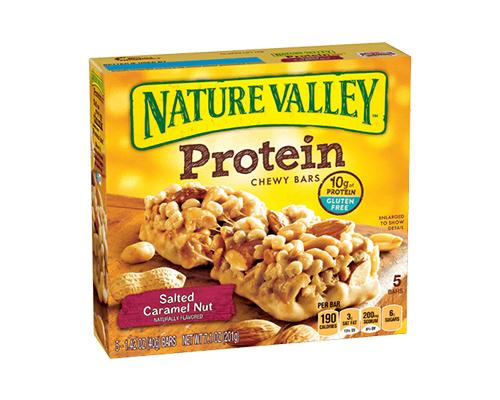 Nature Valley Protein Salted Caramel 6 Ct Shop Express