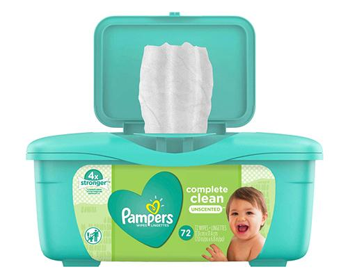 Pampers Complete Clean Wipes - 72 ct