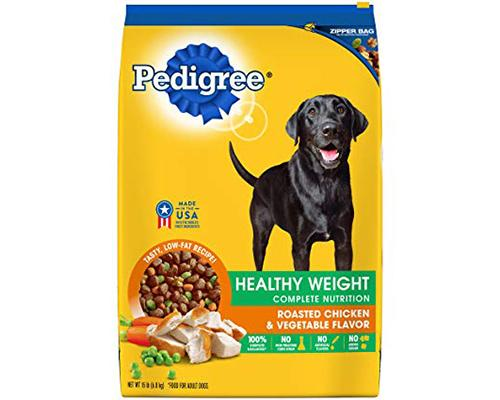 Pedigree Healthy Weight Roasted Chicken & Vegetables