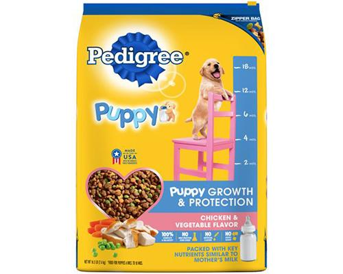Pedigree Puppy Growth & Protection Chicken & Vegetables