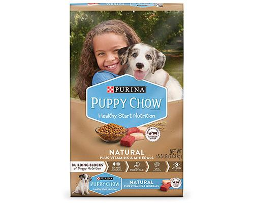 Purina Puppy Chow Natural Chicken