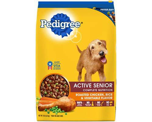 Pedigree Active Senior Roasted Chicken, Rice & Vegetables