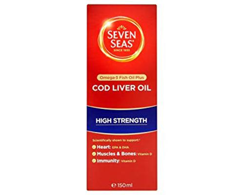 Seven Seas Cod Liver Oil High Strength