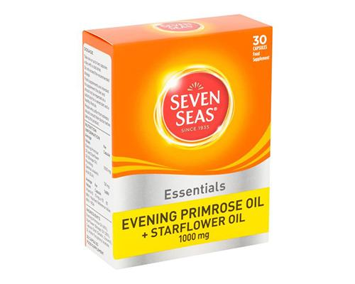Seven Seas Essentials Evening Primrose Oil + Starflower Oil