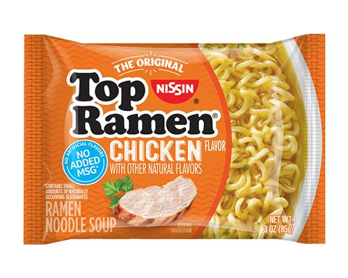 Top Ramen Noodles Chicken