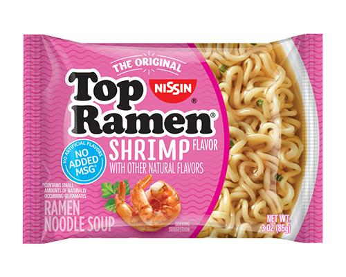Top Ramen Noodles Shrimp