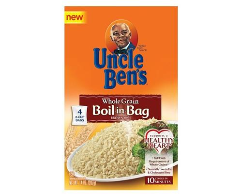 Uncle Ben's Natural Whole Grain (Boil in Bag) Brown Rice