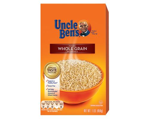 Uncle Ben's Whole Grain Brown Rice - Box