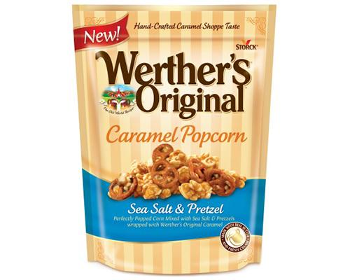 Werther's Original Caramel Popcorn Sea Salt & Pretzels